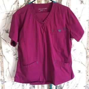 Med Couture Scrub Set, Size Large